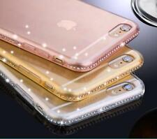 Diamond Bling Luxury Ultra Thin Crystal Gel Case Cover For iPhone 6 6S 7 Plus