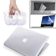 """Glossy Clear Hard Shell Case+Keyboard Cover+LCD New MacBook PRO 13/15"""" Touch Bar"""