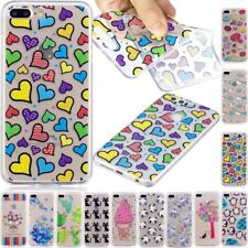 Patterned Ultra Slim Rubber Soft TPU Silicone Back Case Cover For Various Phone
