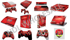 ARSENAL FC PS3/PS4 Pro/XBOX 360/XBOX ONE/LAPTOP CONTROLLER/CONSOLE SKIN STICKER