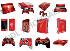 LIVERPOOL FC PS3/PS4/XBOX 360/LAPTOP CONTROLLER/CONSOLE SKIN STICKER TABLET CASE