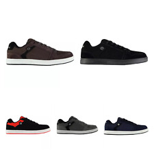 AIRWALK MENS BROCK SKATE SHOES TRAINER SHOES ACCENT SUEDE LACE UP CASUAL SPORTS