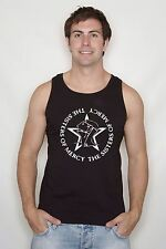 """The Sisters Of Mercy"""" Logo vest , Rock, Goth,Post Punk,All Sizes free delivery"""