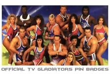 Official TV Gladiators Pin Badges - Rare -  Assorted To Choose From