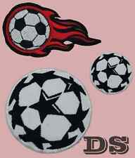 Football / Soccer Ball Sports Logo iron sew on Patch / Badge