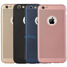 For iPhone X5s 6S 7 7 Plus - Ultra-Thin Hard Breathable Case Tempered Cover