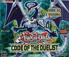 YuGiOh Code of the Duelist, COTD, Super Rare 1st Edition, Choose from list
