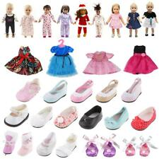Various Dress Shoes Sandal Pajamas For 18'' American Girl Our Generation Dolls