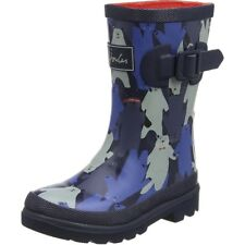 Joules Printed Welly Bear Camo Multi Gomma Junior Wellingtons Stivali