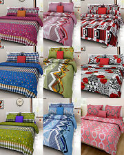 Homefab India 140 TC Cotton Double Bed Sheet with 2 Pillow covers