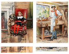 Various CHARACTERS FROM FICTION SERIES - Large Players Cigarette Cards c.1930