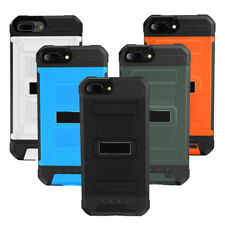 For iPhone 6 6s 7 7 Plus Power Pack Backup Charging Charger Battery Case Cover
