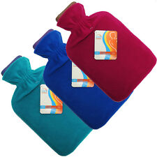 Sure Thermal Home Office Hot Water Bottle + Comfort Fleece Cover Various Colours