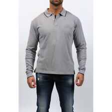 GIAN FRANCO FERRE, Polo Homme Manches Longues, Gris Clair