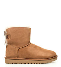 UGG Australia - Botas W Mini Bailey Bow II chestnut