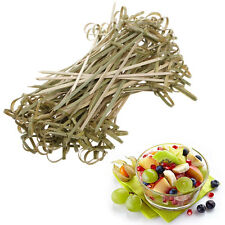 100Pcs 13cm Bamboo Knot Skewers Cocktail Sticks Canape Buffet Party Tableware