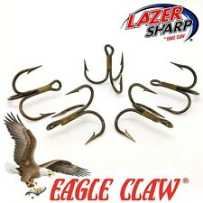 Eagle Claw Treble Hooks 954 Sizes 2-3/0,  Bronze, Spinners . Pike & Sea Lures .