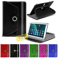 """Premium Quality 360 Rotating Stand Tablet Case Cover For HTC Evo View 4G (7"""")"""