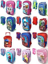 Disney Kids Character Children Travel Holiday Trolley Suitcase Wheel Bag Large