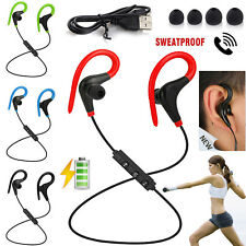 Wireless Bluetooth Earphone Headphone Stereo Earbuds For iPhone 7 8 Plus Samsung