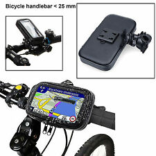 Bicycle Waterproof Phone Case Pouch Handlebar Mount Holder For Ip6 plus/Ip7/S6