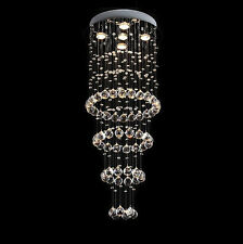 40*100cm modern Chrystal chandeliers lamp for living room stair staircase light