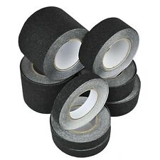 Anti Slip Non Skid Black Tape High Grip Sticky Backed Adhesive Floor Safety