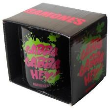 Ramones Gabba Gabba Hey OFFICIAL COLLECTABLE CERAMIC MUG Boxed + 2 X FREE BADGES