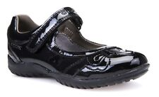 Geox J Shadow A Girls Black Patent School Shoe - 100% Positive Reviews