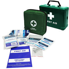 Qualicare Travel Car 1 Person Camping Bag Box Pouch First Aid Emergency Kit