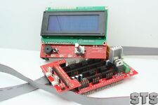 RAMPS 1.3 3D PRINTER ELECTRONICS-SDRAMPS-MOTOR DRIVERS-PANELOLU2- LCD OPTIONS