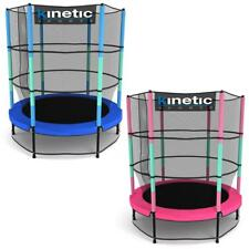 Kinetic Sports Trampolino Bambini Tappeto Elastico Indoor Outdoor Giardino 140cm