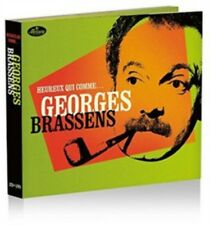 Georges Brassens - Heureux CHE COMME Brassens NUOVO CD+DVD