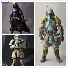 Star Wars Action Figures Stormtrooper Darth Vader Boba Fett Sic Samurai Taisho 1