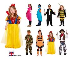 Kids FANCY DRESS COSTUMES Party Girls Boys Halloween World Book Day Outfit UK