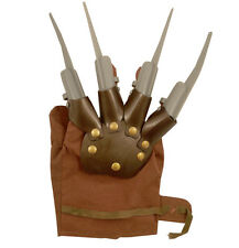 HAND CLAW FREDDY KRUEGER GLOVE NIGHTMARE ON ELM STREET HALLOWEEN PARTY ACCESSORY