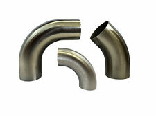 FREE POST STAINLESS 304 1D BENDS TIGHT RADIUS ALL SIZES AVAILABLE 45 90 DEGREE