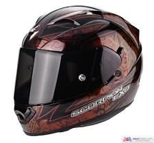 Casco SCORPION EXO-1200 Air Fantasy Rojo Camaleón