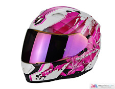 Casco SCORPION EXO-1200 Air Lilium Blanco / Rosado