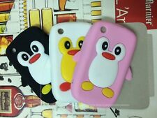 cute Latest 3D Design Silicone Back Case Cover For Blackberry Curve 8520