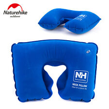 Neck Pillow Air Inflatable Travel Cushion Head Nap Office Rest Airplane Camping