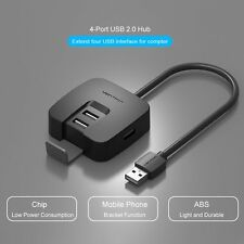 1M High Speed 4 Port USB 2.0 Multi HUB Splitter Expansion PC Laptop Adapter WS