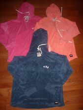 "VICTORIAS SECRET PINK ""PINK"" TERRY BEACH BATH VNECK PULLOVER HOODIE OR SET NWT"