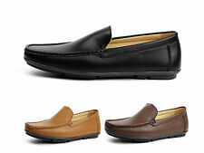 Mens Slip On Casual Driving Shoes Smart Fashion Designer Loafers Moccasin Style