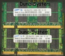 1GB 2GB DDR2 667 MHz SO-Dimm pol.200 PC2-5300S Samsung Hynix Qimonda 2Rx8 2Rx16