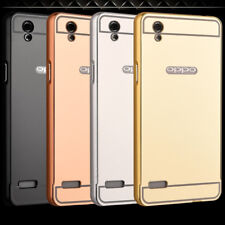 For OPPO Neo 7 5.0 Inches Aluminium Bumper With Mirror Acrylic Back Cover