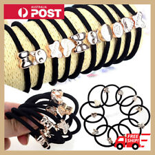 10X Girls Set Elastic Hair Ties Band Ropes Ring Ponytail Holder Accessories