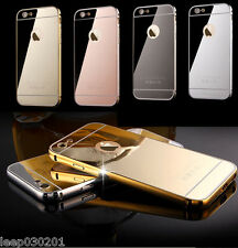 iPhone 8x Funda Aluminio Espejo Funda iPhone Funda Apple 8 7 6 6+ 6s 5 SE 7+ 8+