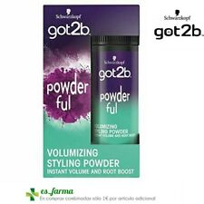 SCHWARZKOPF GOT2B POWDER'FUL POLVO VOLUMINIZANTE 10G VOLUMIZING POWDER
