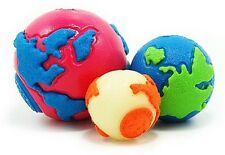 Orbee Tuff Tough Ball Puppy Dog Chew Toy -Planet Dog Small, Medium Large